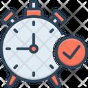 Time Check Symbol Ready Timer Icon