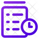 Time Clipboard Icon