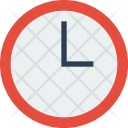 Time Clock History Icon