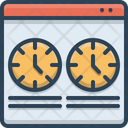 Time Comparison Icon