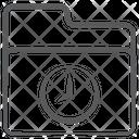 Time Folder Alarm Folder Time Directory Icon