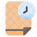 Time Document Time Report Document Icon