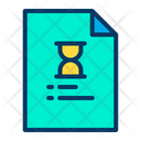 Time Document Icon