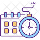 Time Expiring Contract Icon