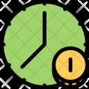 Time Finance Marketing Icon