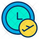 Time Flight Icon