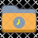 Time Folder Time Timer Icon