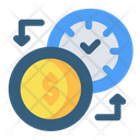Time For Money Icon
