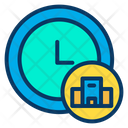 Time Hotel Icon