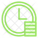 Clock Time Payment Icon