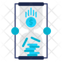 Time Hourglass Money Icon
