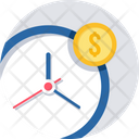 Money Time Finance Icon