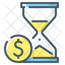 Time Is Money Time Money Icon