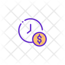 Time Is Money Earning Hour Time Icon