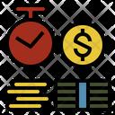 Time Deposit Economics Icon