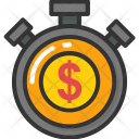 Time Money Superannuation Icon