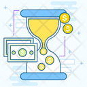 Time Is Money Productivity Efficiency Icon