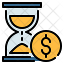 Time Money Time Is Money Icon
