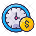 Business Finance Payment Time Icon