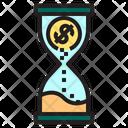 Hourglass Money Finance Icon