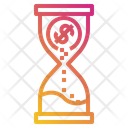 Hourglass Money Finance Icon