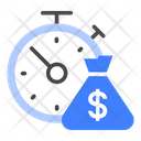Time Money Budget Icon
