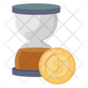 Time Is Money Business Time Business Efficiency Icon