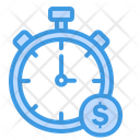Time Is Money Time Management Business Time Icon