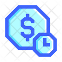 Business Finance Icon Set With Color Outline Style And Pixel Perfect Icon