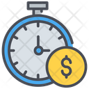 Time Is Money Time Business Time Icon