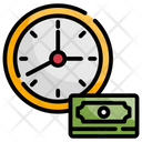 Time Is Money Finance Investment Icon