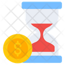 Time Is Money Business Time Efficiency Icon