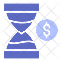 Time Is Money Coin Money Icon