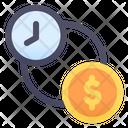 Save Money Time Saving Time Money Saving Time Icon