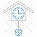Time Money Strategy Icon