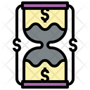 Time Is Money Teamwork Management Icon