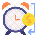 Time Is Money Budget Time Icon