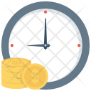 Clock Credit Financial Icon