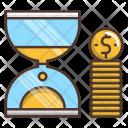 Time Money Cash Icon