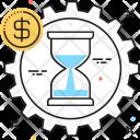 Time Money Tax Icon