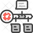 Time Line Workflow Process Line Icon