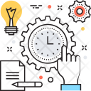 Time Management Planning Icon
