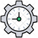 Time Plan Management Icon