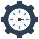 Clock Gear Option Icon