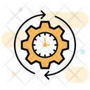 Productivity Time Management Efficiency Icon