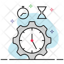 Time Management Time Schedule Time Maintenance Icon