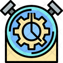 Time Time Management Management Icon