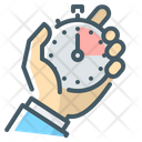 Time Management Management Stopwatch Icon