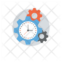 Time Management Schedule Planning Event Management Icon