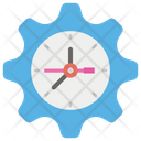 Time Management Performance Management Time Efficiency Icon